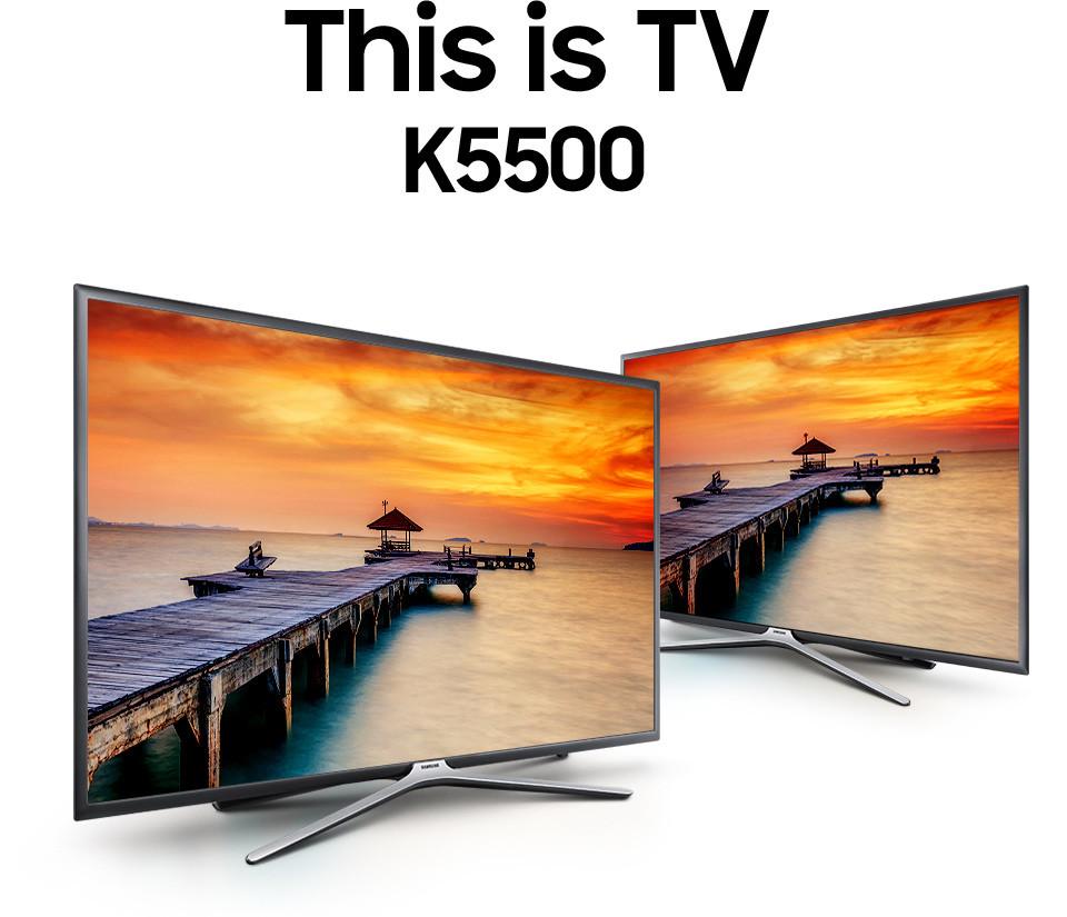 Smart Tivi led samsung 40 inch full HD – Model UA40K5500AKXXV đẹp sang trọng, thanh thoát và ấn tượng