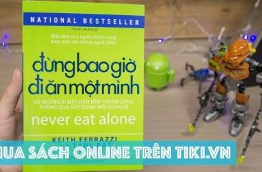 Tiki sách là trang bán sách trực tuyến hàng đầu hiện nay