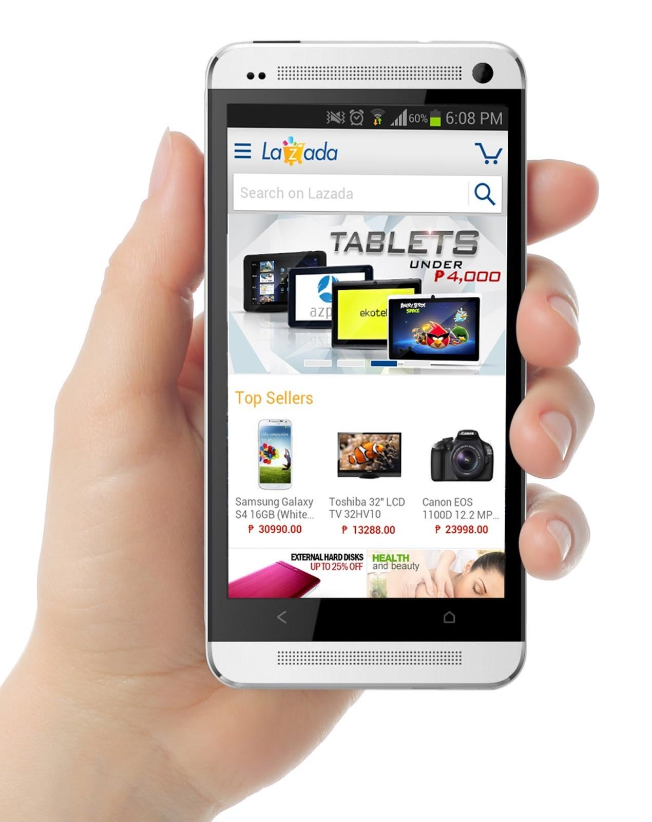 Sử dụng app lazada để mua sắm dễ dàng hơn