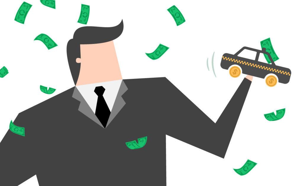 Lái xe Uber được thanh toán phistheo hành trình của khách hàng