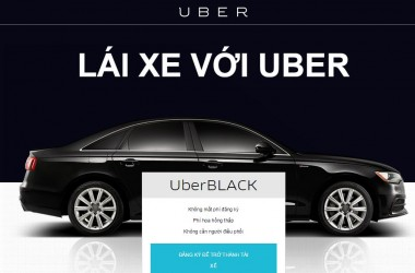 Thủ tục đăng ký lái xe Uber nhanh gọn, đảm bảo lợi ích của chủ xe