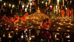 Lễ hội thả đèn ở Thái