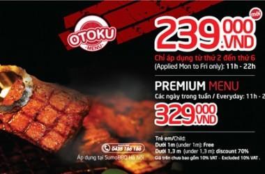 giá buffet sumo bbq