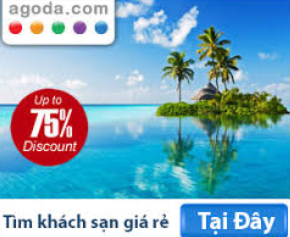 Đặt phòng khách sạn giá rẻ tại agoda